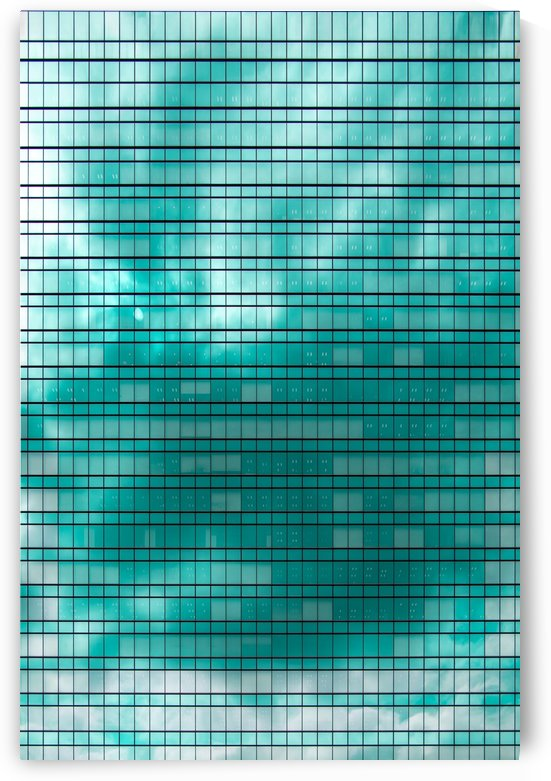 Glass Tower [aqua] by Peter Jacoby
