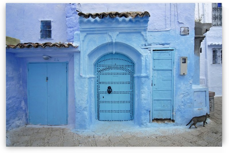 Chefchaouen Medina Morocco by Petr Svarc