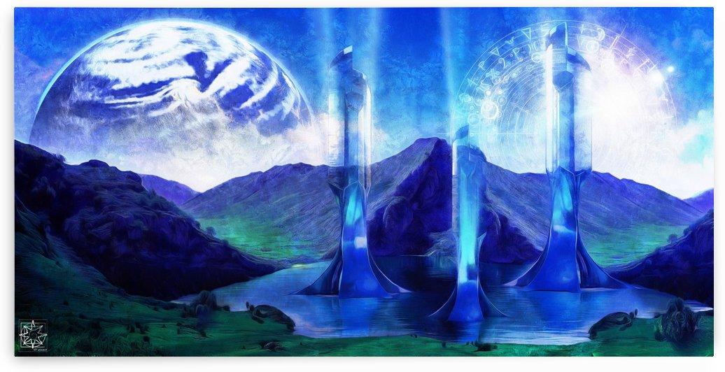 The Europan Towers by ChrisHarrisArt