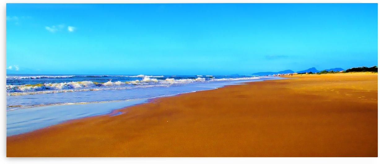 Beach XIV by Carlos Wood