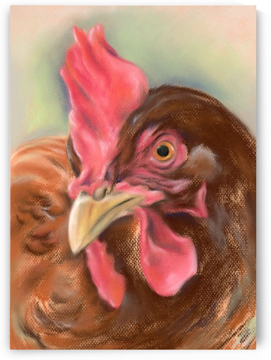 Little Red Hen by MM Anderson