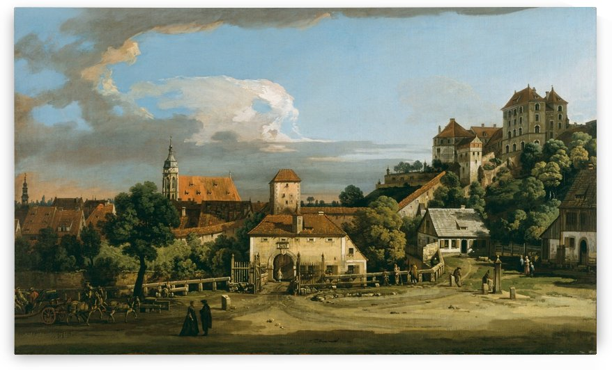 The Obertor from the South by Bernardo Bellotto