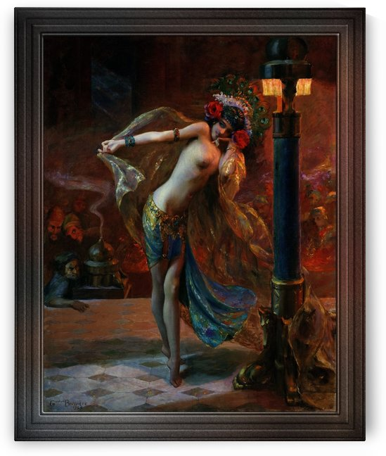 Dance of the Seven Veils by Gaston Bussiere Classical Art Old Masters Reproduction by xzendor7