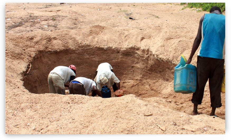 suffering for portable water we have to dig underground to get unclean water for driking and for domestic use 4 copy by emmans4alls