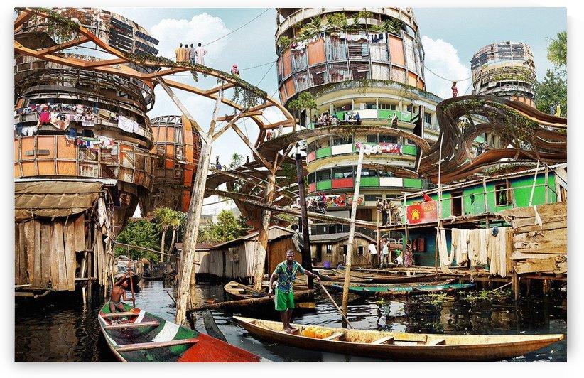 oyakilome canal in warri(NIgeria) by emmans4alls