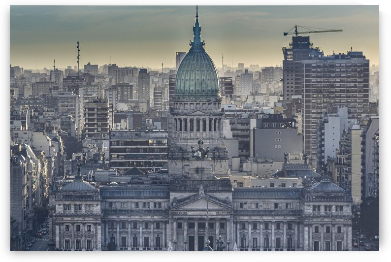 buenos Aires Argentina Cityscape Aerial View  by Daniel Ferreia Leites Ciccarino