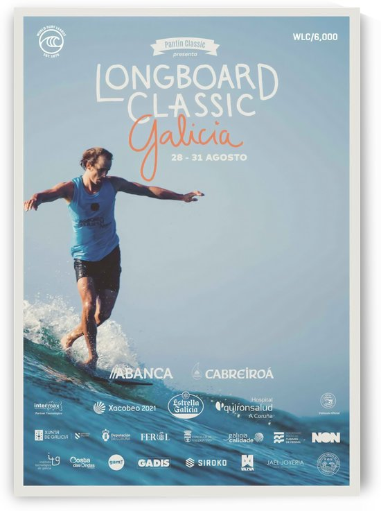 2019 LONGBOARD CLASSIC Galicia Print - Surfing Poster by Surf Posters