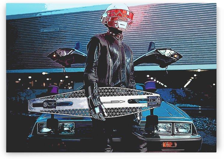daft punk the disk jockie by ThogiGio
