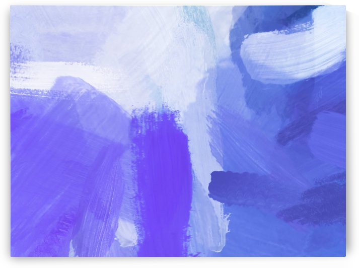 splash painting texture abstract background in blue and purple by TimmyLA