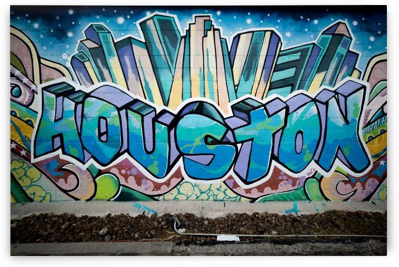 Houston Graffiti: 9A by Nancy Calvert