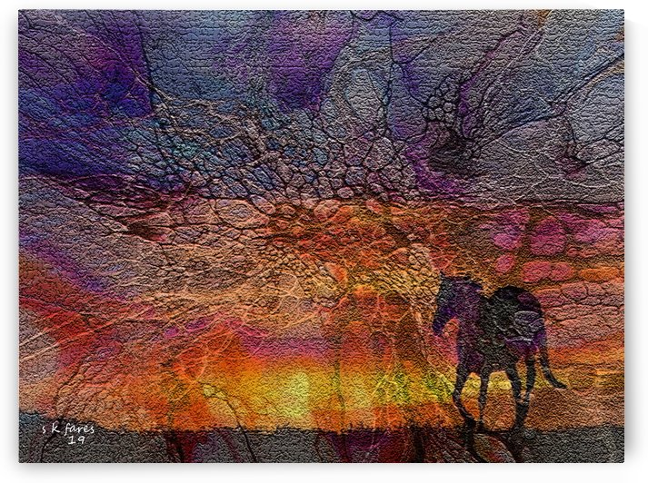 abstract horse18 by khalid selmane fares