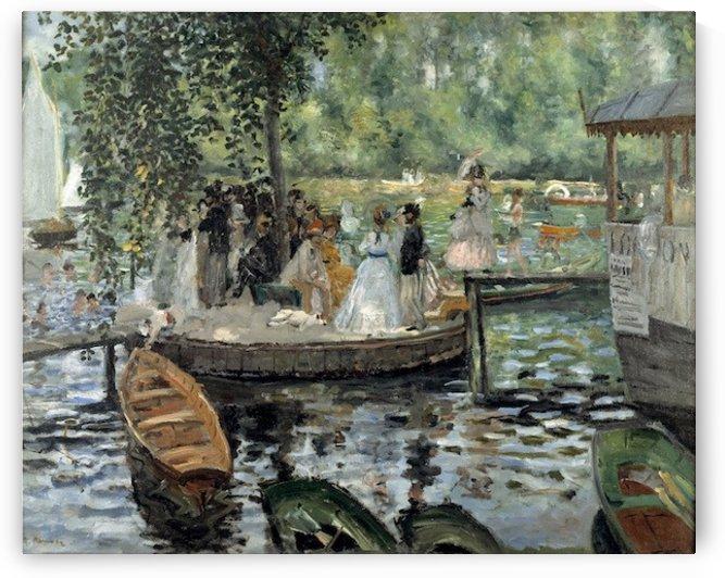 La Grenouillere by Renoir by Renoir