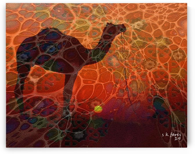 abstract camel05 by khalid selmane fares