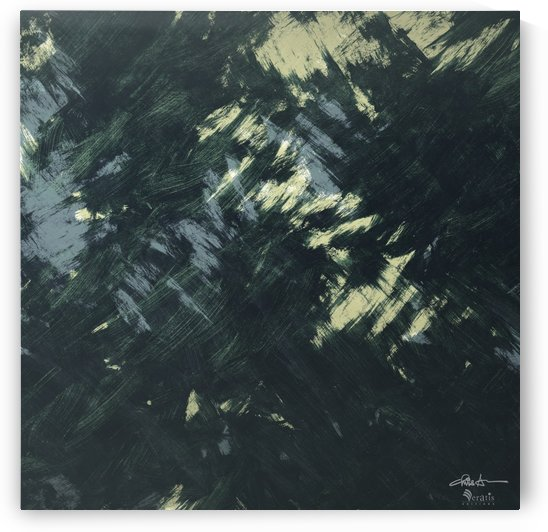 Brushed 48 Dark Forest 1x1 by Veratis Editions