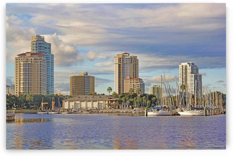 The South Yacht Basin Waterfront by HH Photography of Florida