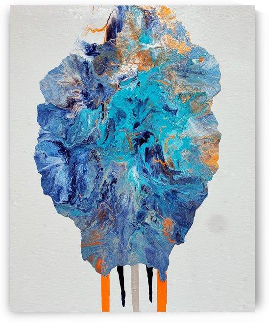 Orange Teal 1 by La Sima Studio