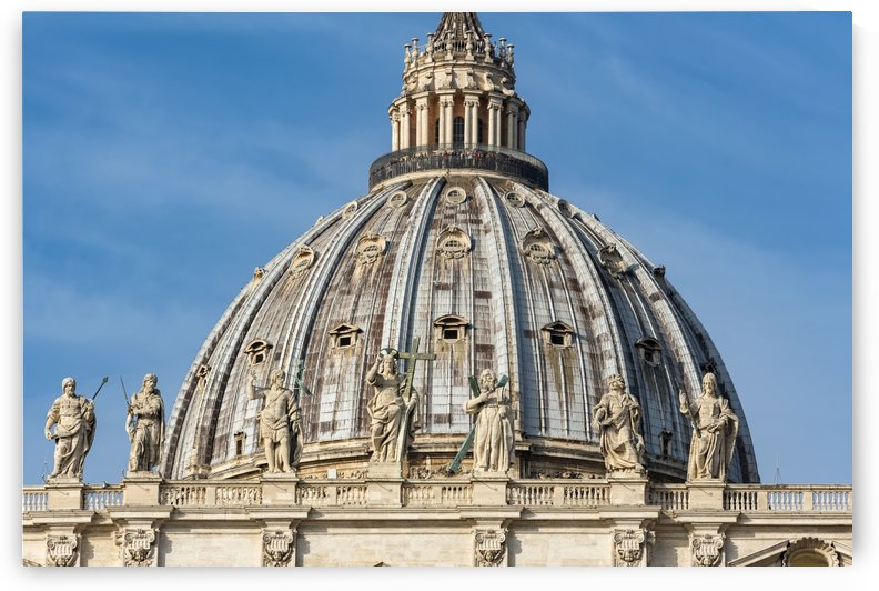 St. Peters Basilica Rome by Petr Svarc