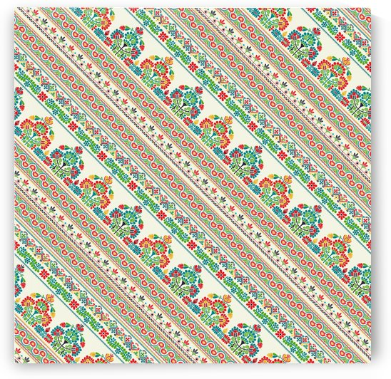 Hungarian seamless pattern  by Rceeh