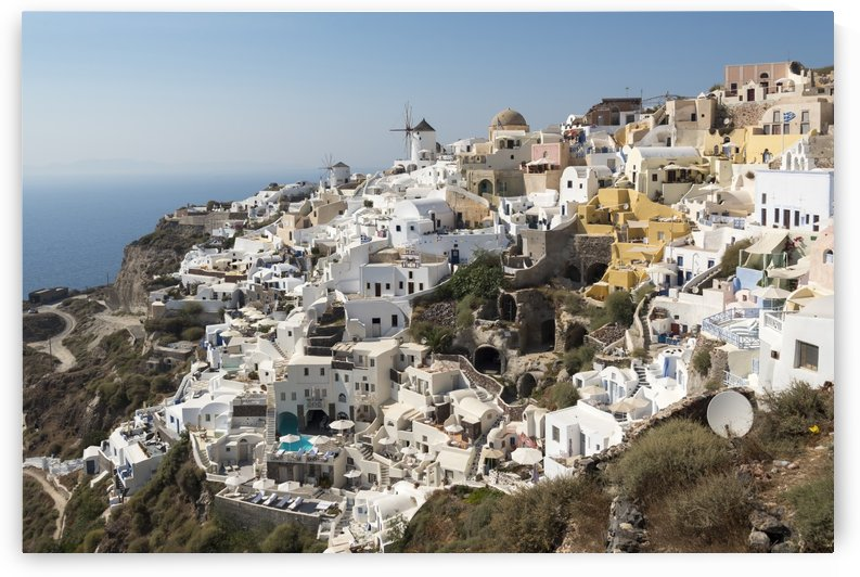 Oia Village Santorini Greece by Petr Svarc