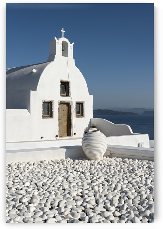 White Church Oia Santorini by Petr Svarc