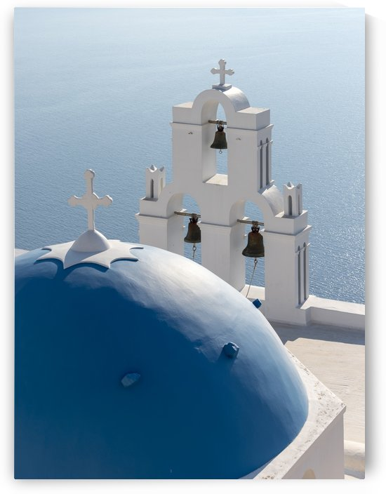 Santorini Church Greece by Petr Svarc