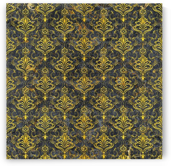 Golden pattern with marble by Art Design Works
