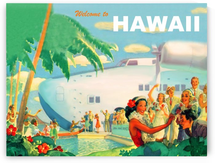 Welcome to Hawaii by vintagesupreme