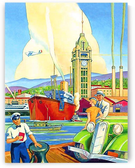 On Hawaii Port by vintagesupreme