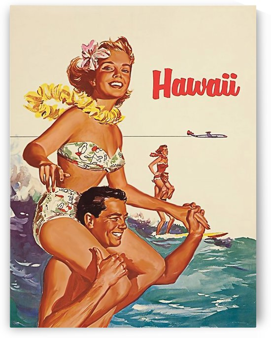 Happy Couples on Hawaii by vintagesupreme