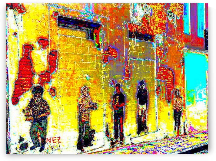 The Wall by Efrain Montanez