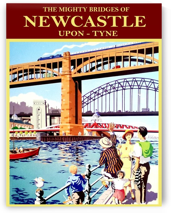 Newcastle upon Tune by vintagesupreme