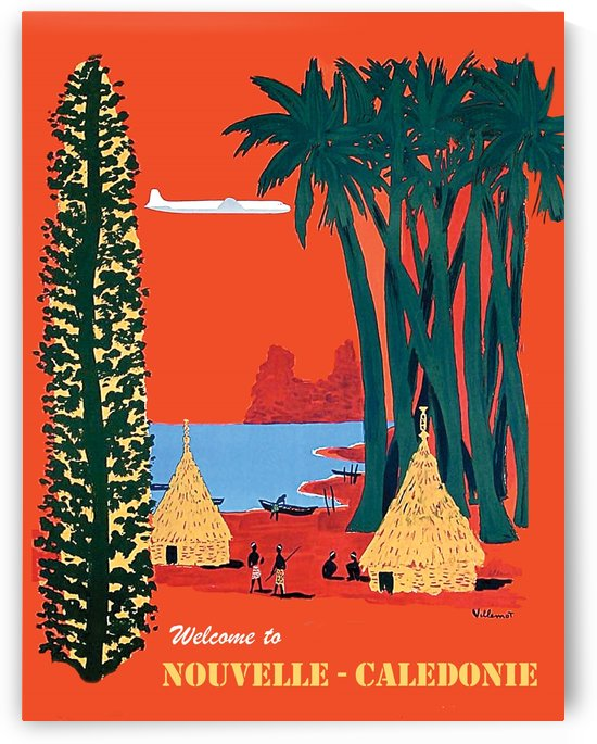 New Caledonia by vintagesupreme