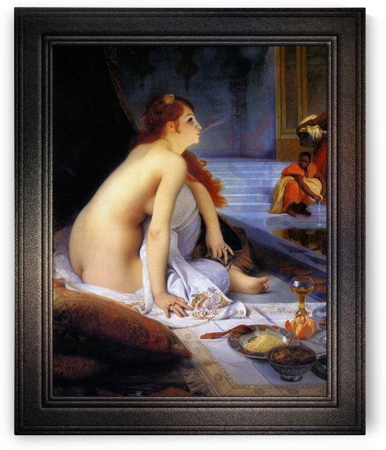 The White Slave by Jean-Jules-Antoine Lecomte du Nouy Classical Fine Art Reproduction by xzendor7