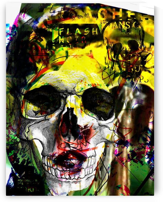 FLOWERS ARE THE NEW DEAD by SEBO