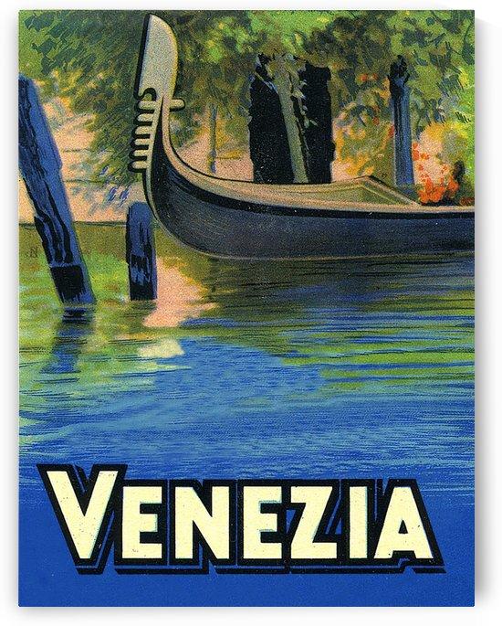 Gondola in Venice by vintagesupreme