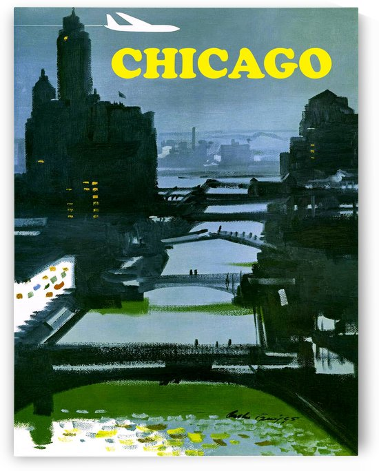 Chicago Bridges by vintagesupreme