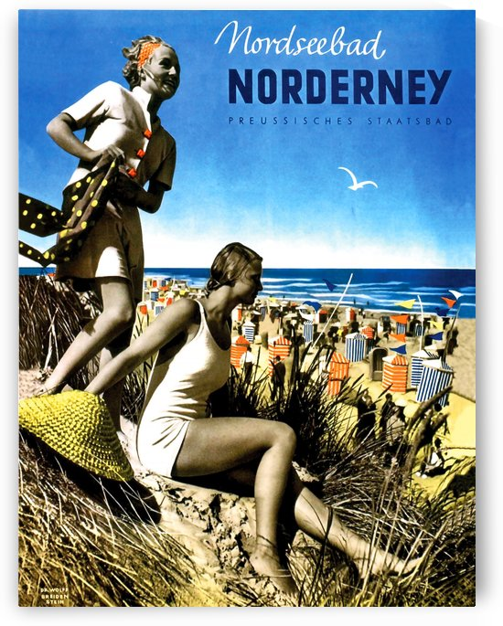 Norderney Beach by vintagesupreme