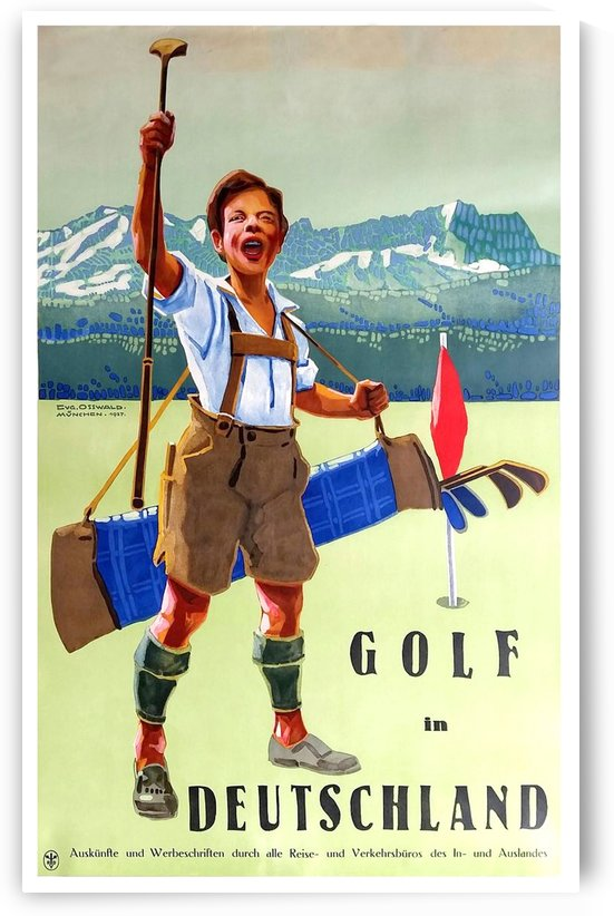 Golf in Deutschland by vintagesupreme
