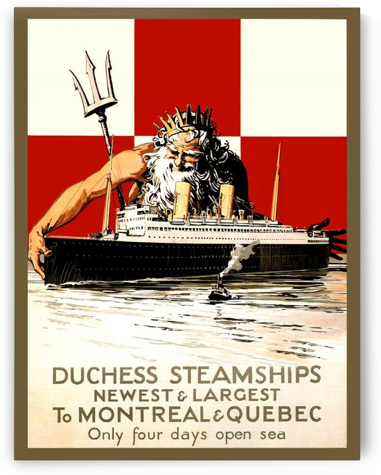 Duch Steamship by vintagesupreme