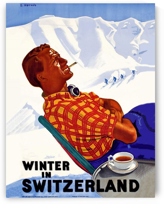 Winter in Switzerland by vintagesupreme