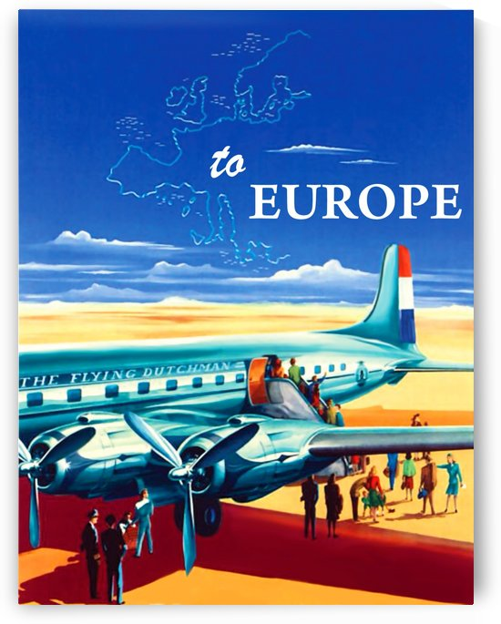 Fly to Europe by vintagesupreme