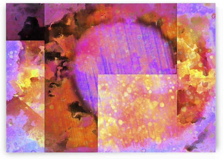 Sunshine and Showers Geometry Abstract by Dorothy Berry-Lound