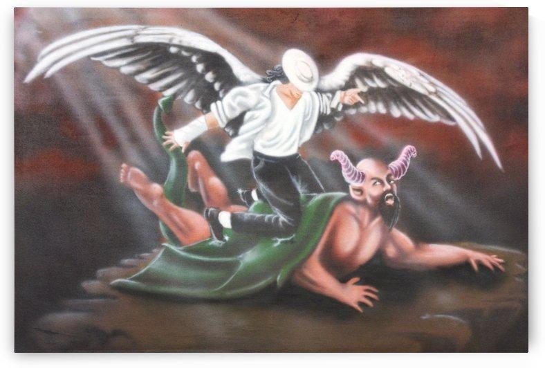 mikhael and demond by Anang soeganda