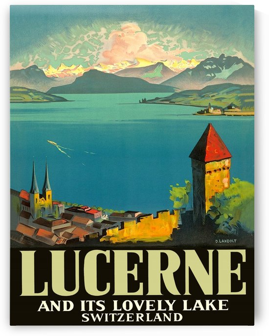 Lucerne and the Lake by vintagesupreme