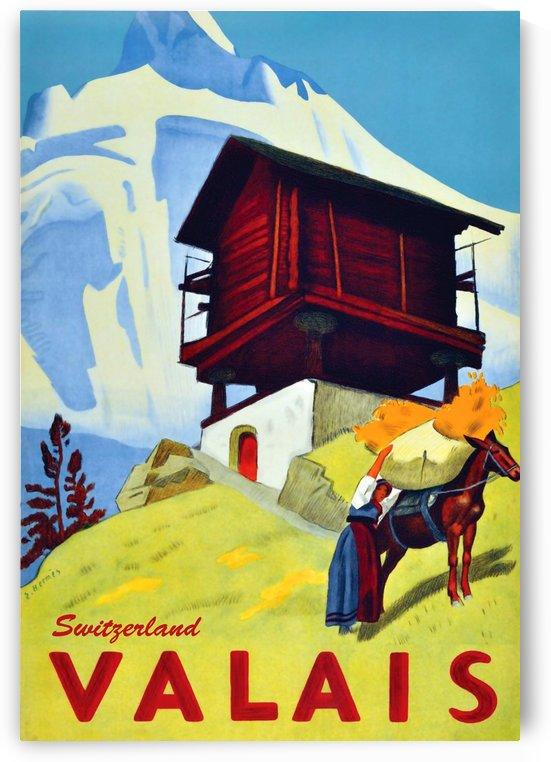 Valais Switzerland by vintagesupreme