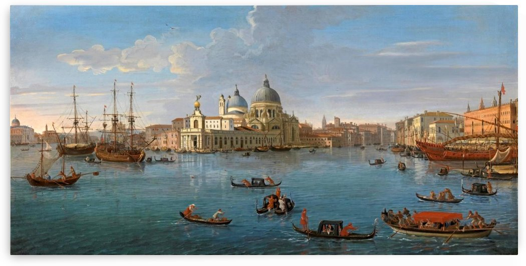 A view of Venice by Canaletto