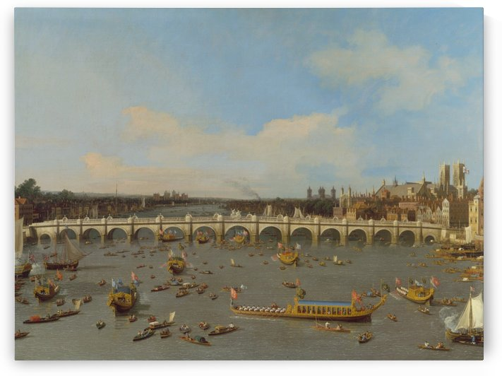 Westminster Bridge by Canaletto