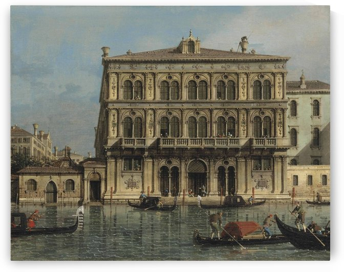 Palazzo Vendramin-Calergi, on the Grand Canal, Venice by Canaletto