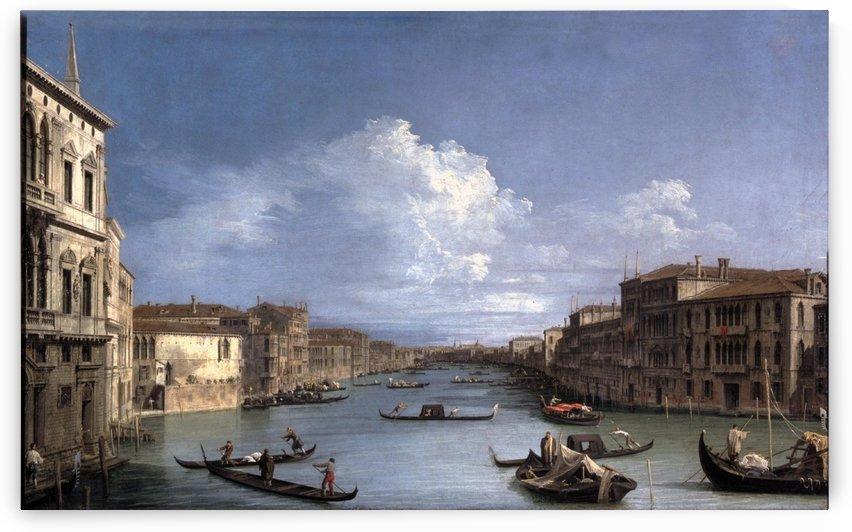 Il Canal Grande da Palazzo Balbi by Canaletto