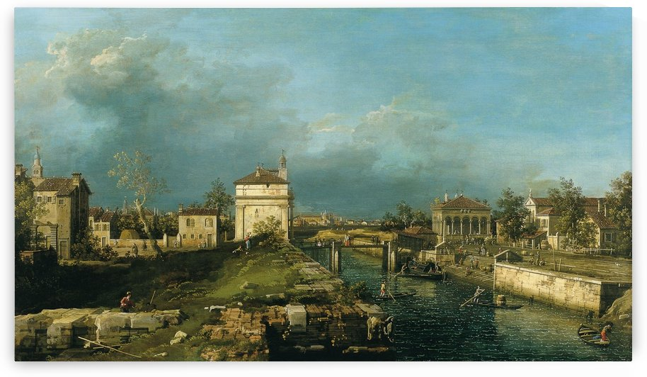 Padoue, la Porta Portello by Canaletto